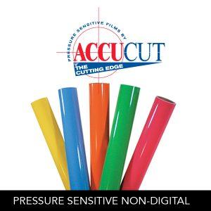 AccuCut® Pressure Sensitive Films - Non-Digital