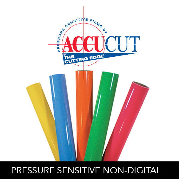AccuCut® Pressure Sensitive Films - Non-Digital