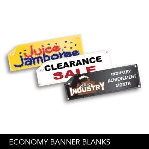 Economy Banner Blanks