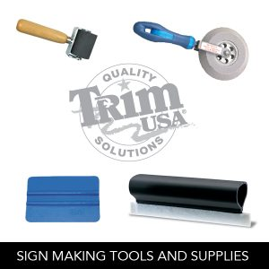 Sign Making Tools and Supplies