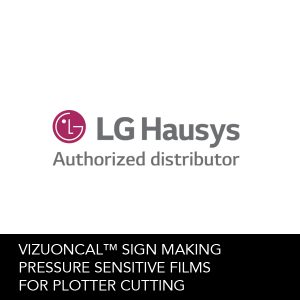 LG Hausys VIZUONCAL™ Pressure Sensitive Films for Plotter Cutting